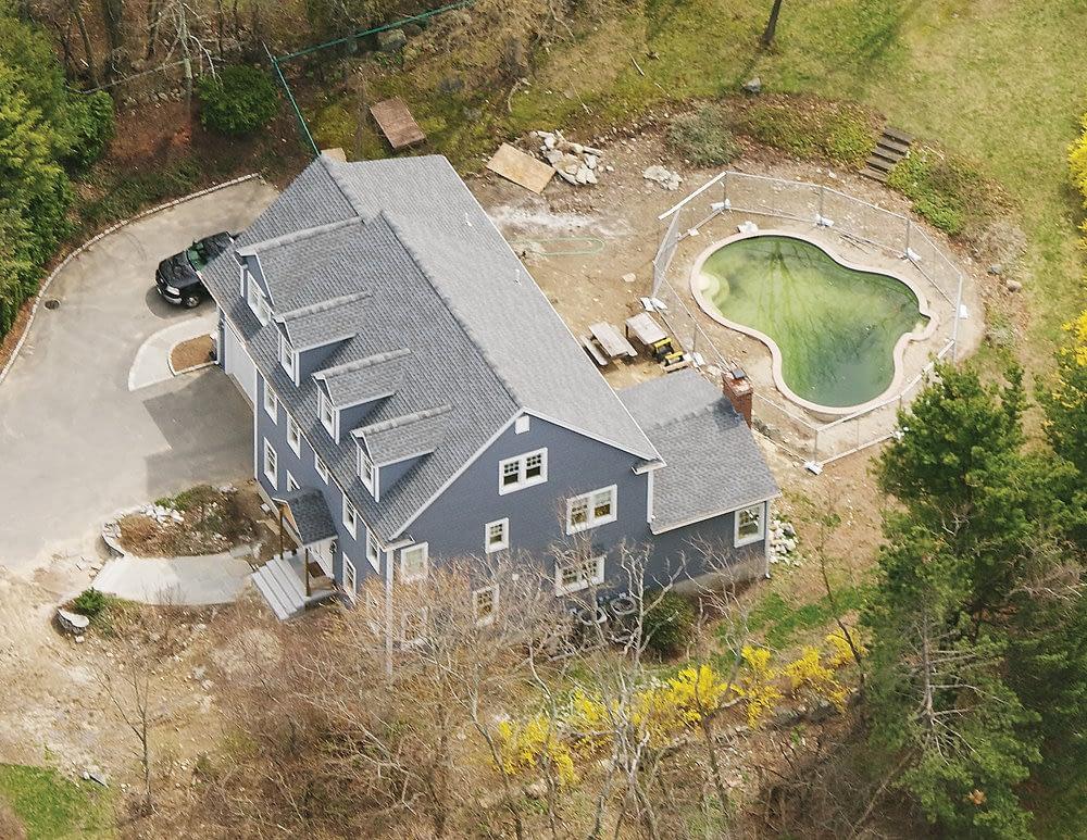 Rebuilt residential house