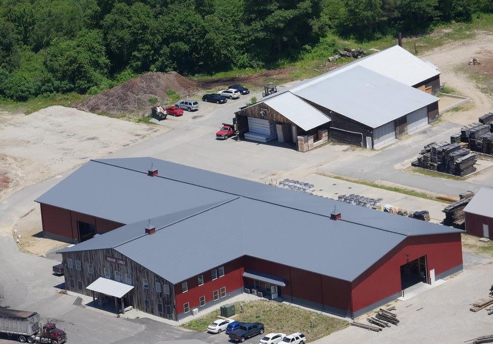 Lumber company rebuilt